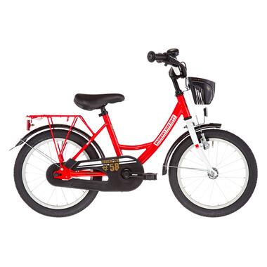 """Vélo Enfant VERMONT FIRE DEPARTEMENT 16"""" Rouge/Blanc 2019"""